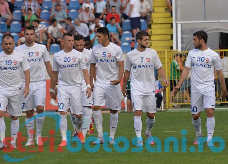 LA PAMANT! FC Botosani este eliminata din Cupa Ligii, dupa 0-3 cu Chiajna! Miron la spital, Costin eliminat!