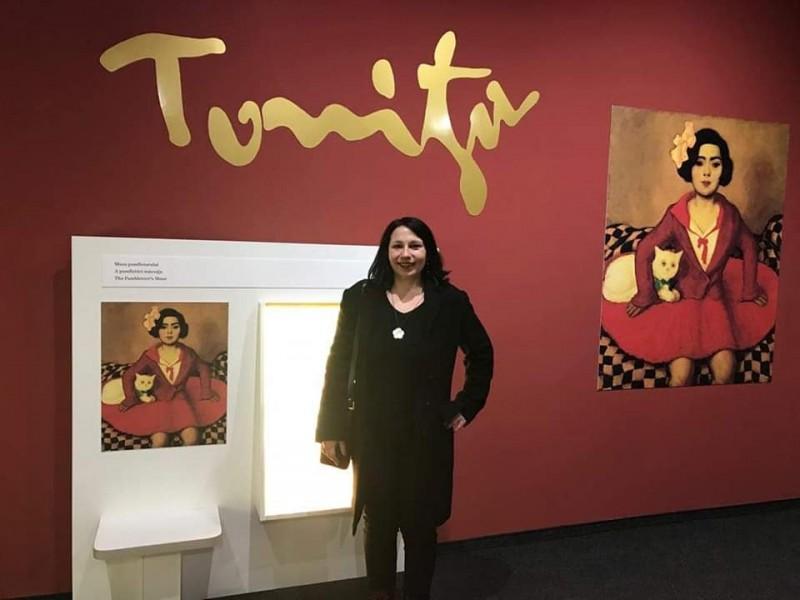La taifas cu Andra Tonitza, strănepoata pictorului Nicolae TONITZA