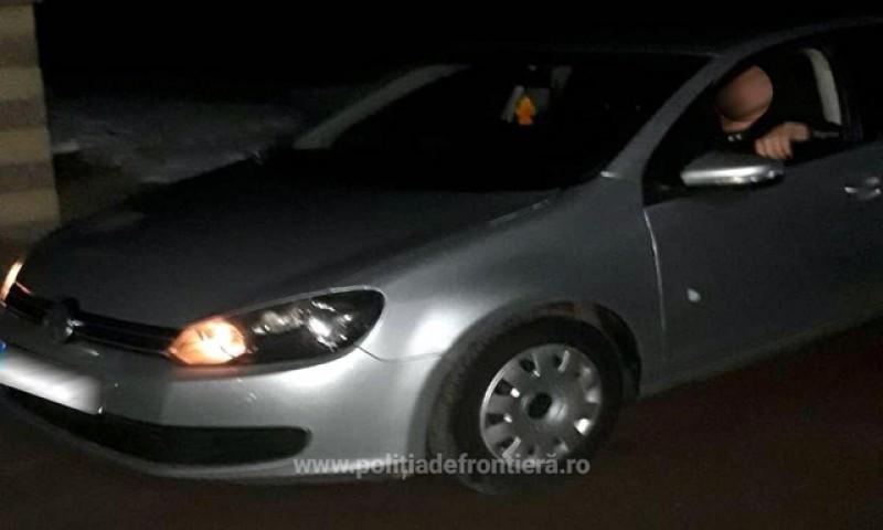 La volan prin Mihăileni cu permisul de conducere suspendat