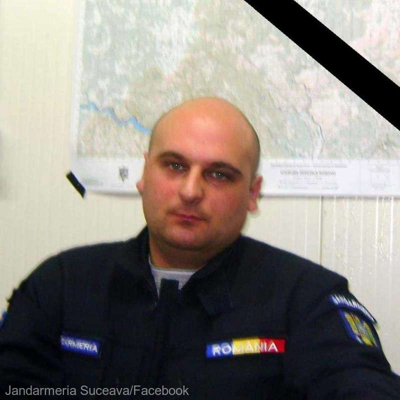Lângă noi: Fost jandarm din Suceava, în vârstă de 42 de ani, decedat de coronavirus, deşi nu avea comorbidităţi