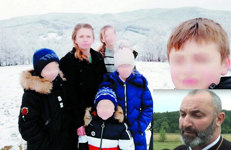 """Lângă noi: Un preot din Suceava îi interzice unei mame cu 5 copii să divorțeze de soțul care o bate mereu. """"Are o cruce de dus!"""""""