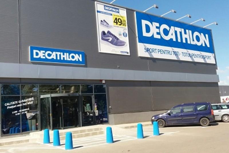 Lanţul de magazine Decathlon, prezent şi în Botoşani, ajunge la afaceri de 200 milioane de euro