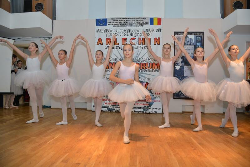 """Laureaţii Festivalului Naţional de Balet """"Arlechin"""" ediţia a VI-a, 2014"""