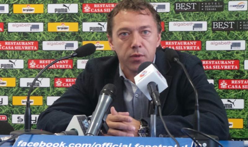 """Laurenţiu Roşu vrea trei puncte de ziua sa de nastere : """"Mergem la Botoşani cu gândul să câştigăm"""""""