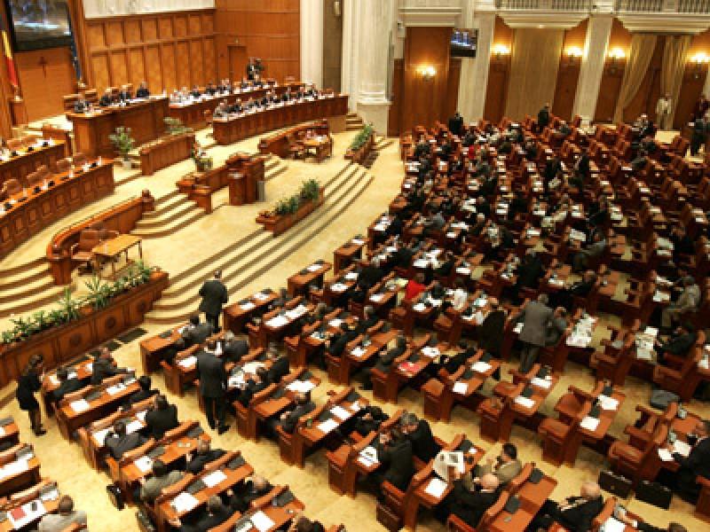 Legea conversiei creditelor in franci elvetieni, adoptata in unanimitate de Camera Deputatilor