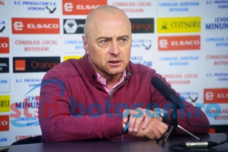 "Leo Grozavu a analizat meciul FC Botosani - Chiajna: ""Sper sa invete din aceste greseli"""