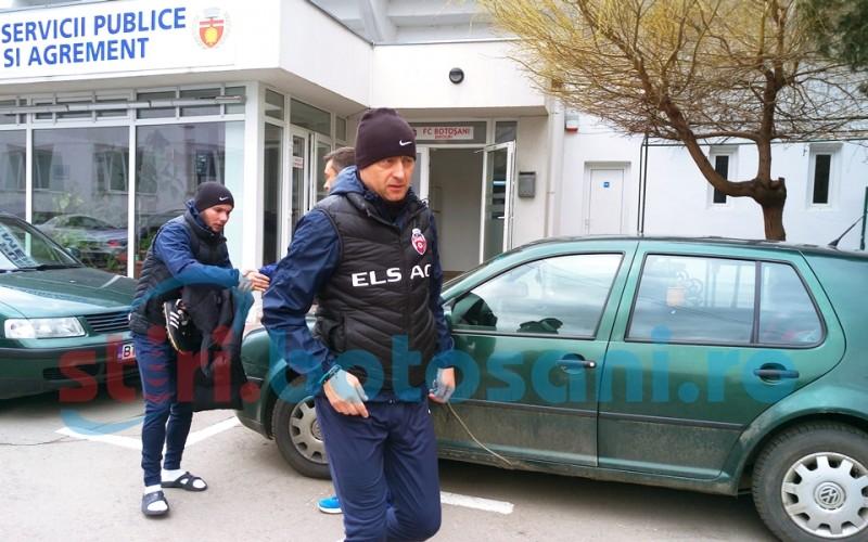 Leo Grozavu a condus antrenamentul FC Botosani de vineri! FOTO