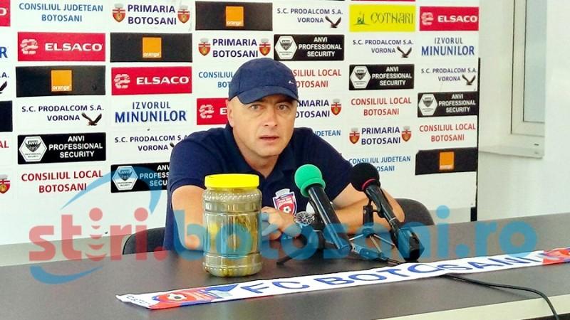"""Leo Grozavu a inceput declaratiile de la Timisoara cu scuze pentru Steaua: """"Singurul care a intuit ce am vrut sa spun a fost Florin Lovin"""""""