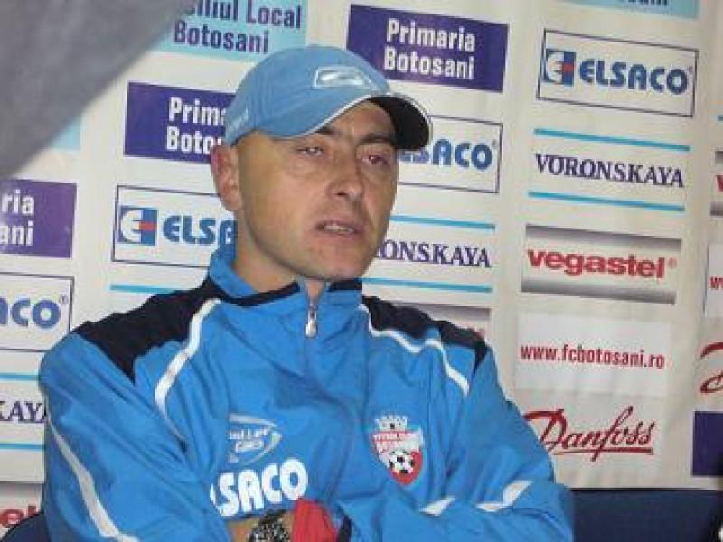 Leo Grozavu, antrenor principal FC Botoşani
