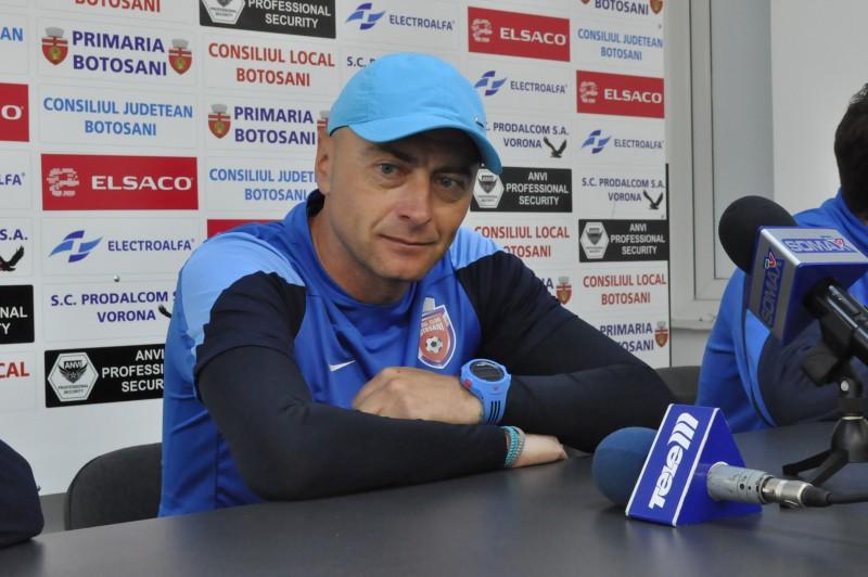 """Leo Grozavu, inaintea meciului cu Ceahlaul Piatra Neamt: """"M-ar face foarte fericit sa castigam cu 1-0, dar va fi o partida grea"""""""