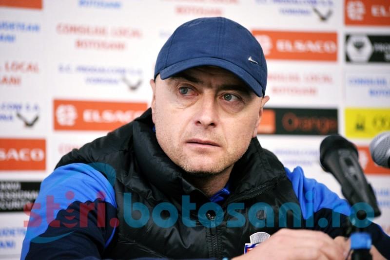 """Leo Grozavu, înaintea meciului cu Poli Iași: """"Sper să se spargă toate ghinioanele și să reușim să câștigăm. Ar cam fi cazul"""""""