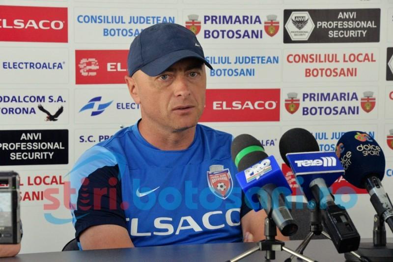 """Leo Grozavu, inaintea partidei cu ACS Poli: """"Este momentul sa facem un joc si un rezultat bun"""""""