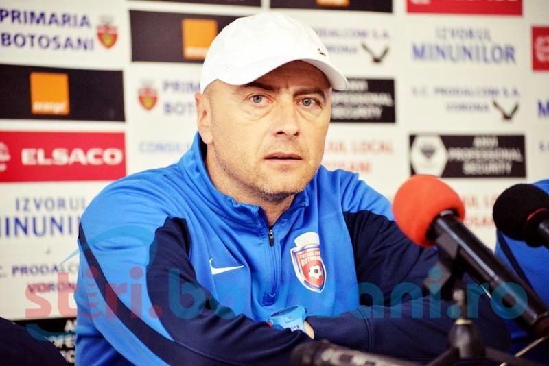 """Leo Grozavu, inaintea partidei cu CFR Cluj: """"Mergem încrezători pentru că avem nevoie mare de puncte"""""""