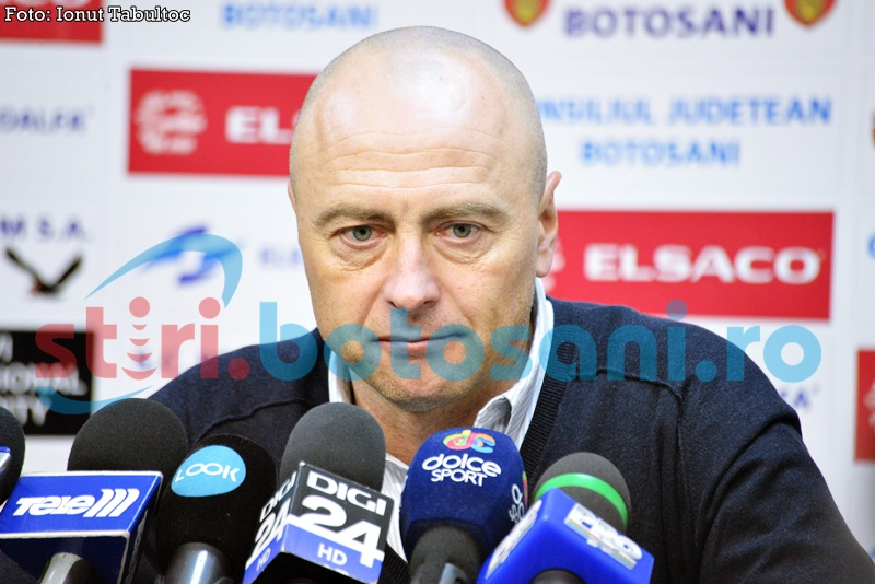 """Leo Grozavu promite victorii la Botoşani: """"Sunt trei puncte care ne aduc liniștea!"""""""