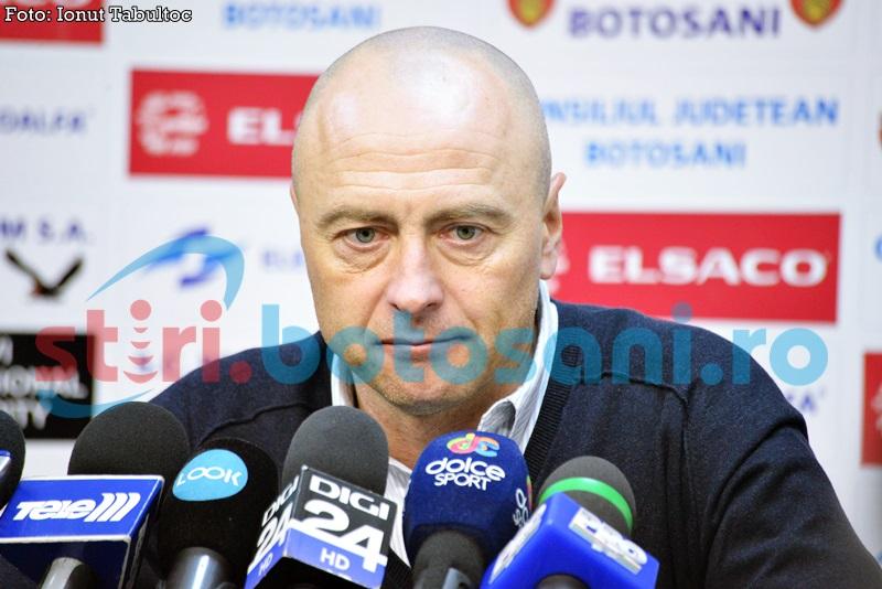 """Leo Grozavu: """"As fi pariat pe FC Botosani, dar suntem naivi in anumite momente""""! Vezi ce spune despre Faugh-Porret!"""
