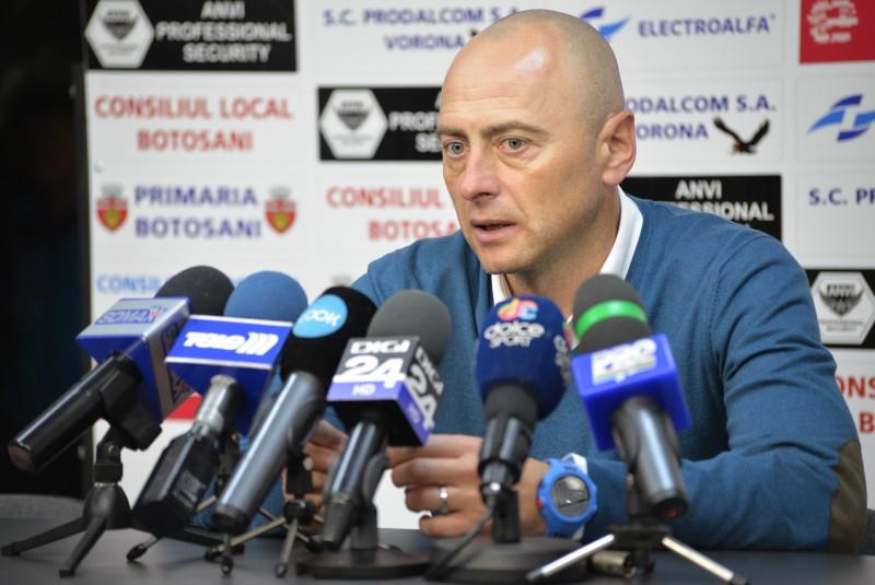 """Leo Grozavu: """"Daca o echipa vine la Botosani si se apara, inseamna ca suntem respectati""""! Cum puteam castiga cu CFR!"""