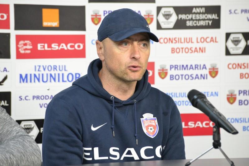 """Leo Grozavu: """"Ii felicit pe jucatori. S-a dovedit ca meciul de la Cluj a fost un accident"""""""