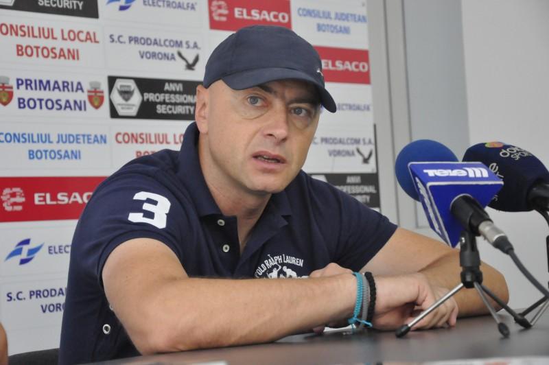 """Leo Grozavu: """"Vreau sa-mi cer scuze, in numele baietilor, pentru ceea ce s-a intamplat la Voluntari"""""""