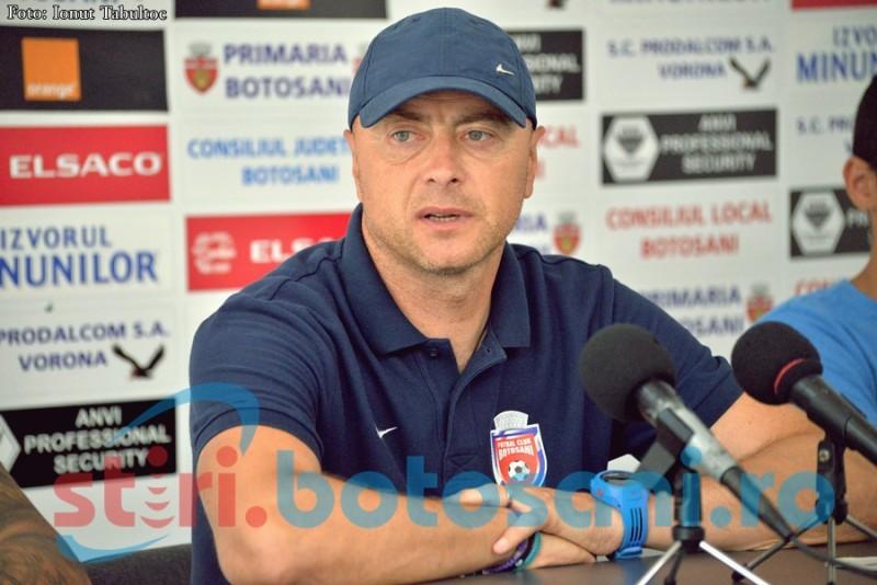 """Leo Grozavu vrea antrenor la Dinamo: """"Mi-aș dori să trag la titlu și cu Botoșani, dar, din păcate, nu se poate"""""""