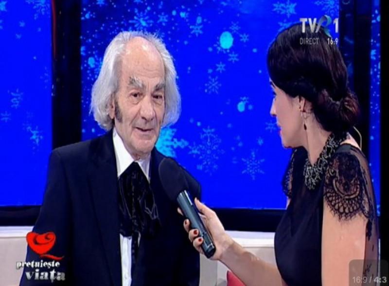 "Leon Danaila la TVR1: ""Pentru bolnavi eu reprezint o intreaga lume, dar pentru intreaga lume eu nu reprezint nimic"""