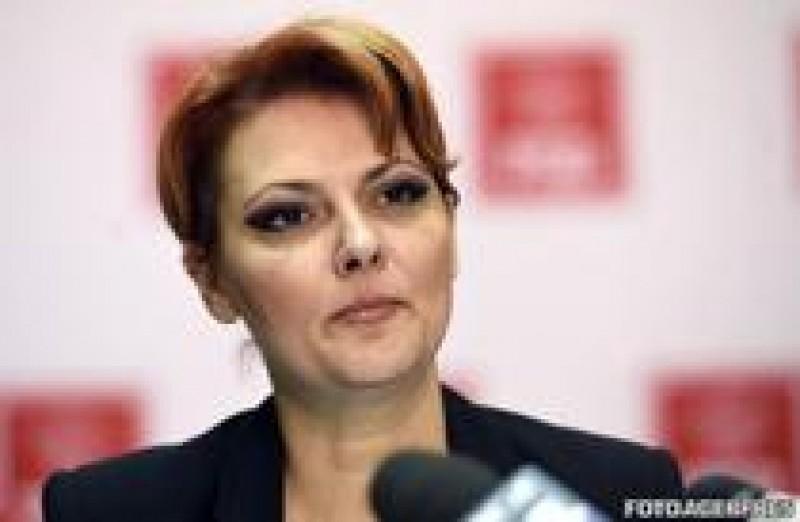 Lia Olguta Vasilescu: Scad salariile pentru 3% dintre bugetari