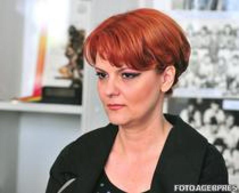 Lia Olguta Vasilescu: Un tatic ce ia 100.000 de lei lunar indemnizatie de crestere a copilului ar trebui sa contribuie 200 de ani