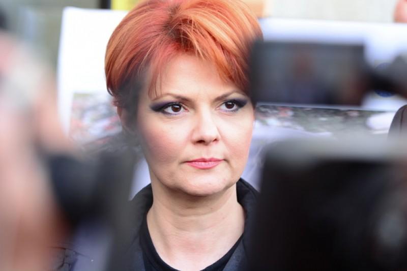 Lia Olguta Vasilescu: Vom scoate din randul pensionarilor pe cei care nu au un stagiu minim de cotizare de 10 ani. Ei vor avea statut de asistat social