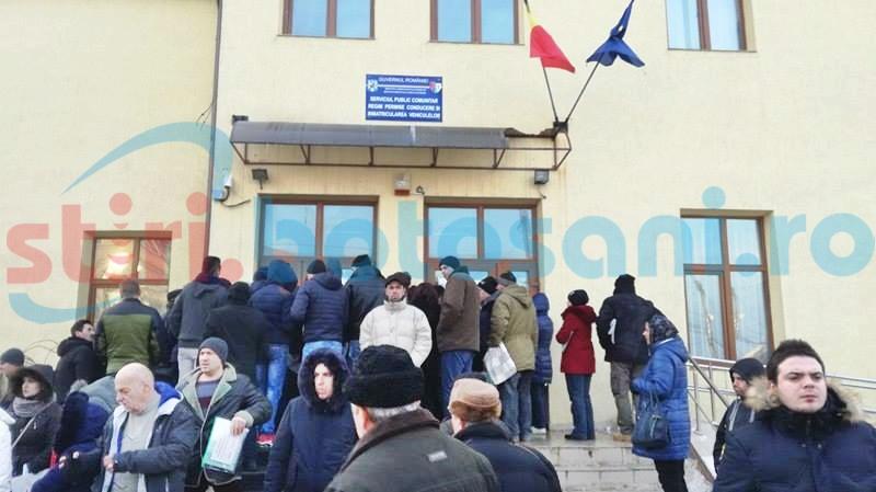 Liber la angajări din sursă externă, la Serviciul de Permise Botoșani!