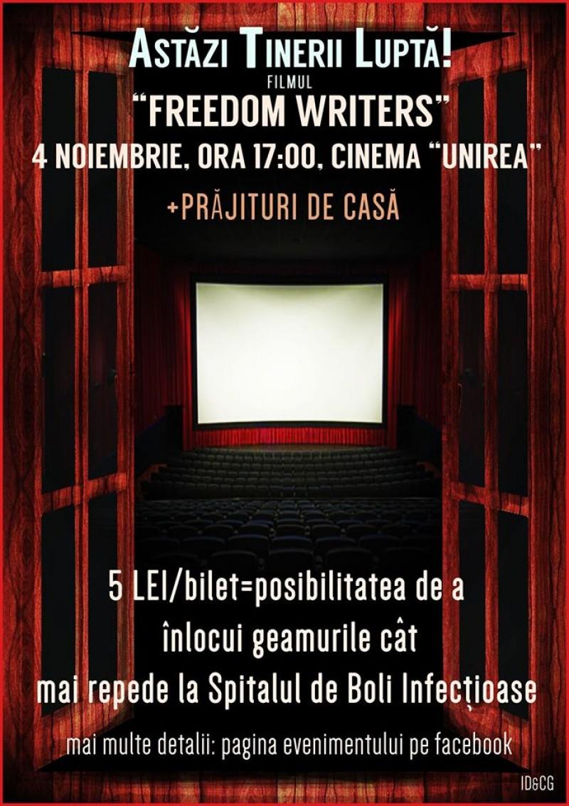 Liceenii din Botoşani vor să schimbe geamurile Spitalului de Boli Infecţioase: Mergi la film şi cumpără o prăjitură!