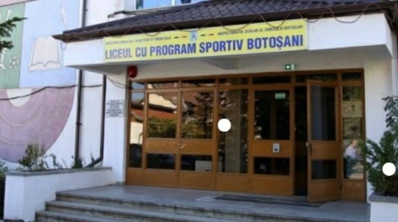 Liceul cu Program Sportiv a fost închis. Cinci elevi și un profesor confirmați cu Covid-19