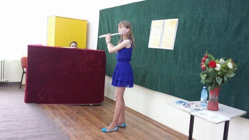 """Liceul de Artă """"Ştefan Luchian"""" a triumfat la Concursul """"Lira de aur""""!"""