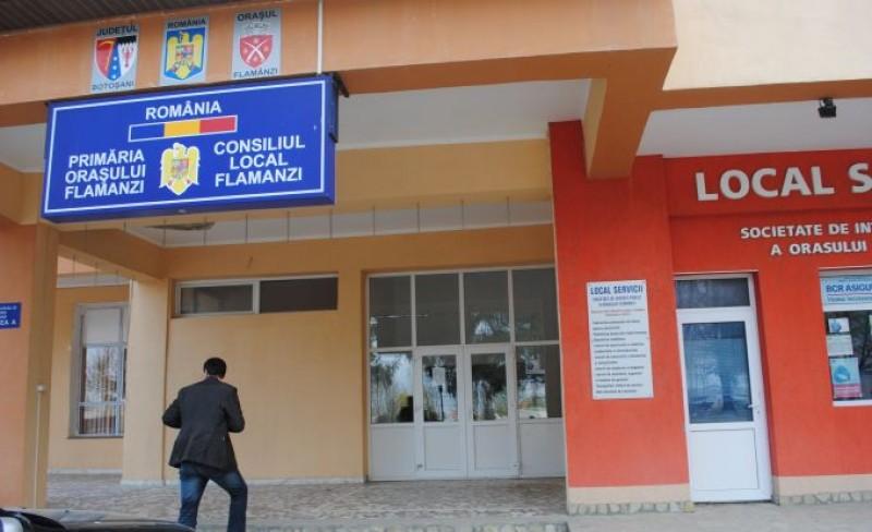 Licitație organizată de Primăria orașului Flămânzi, pentru reabilitarea unei școli, a 30 de case și amenajarea unui Centru Comunitar