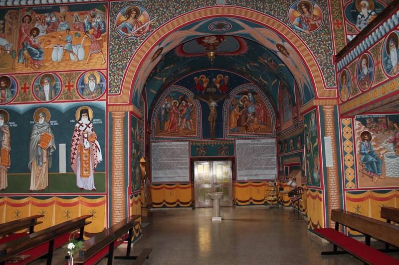 Licitație pentru realizarea picturii interioare a unei biserici din județ