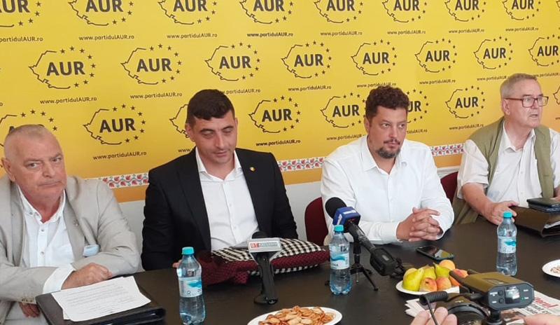 Liderii AUR în vizită de lucru la Botoșani