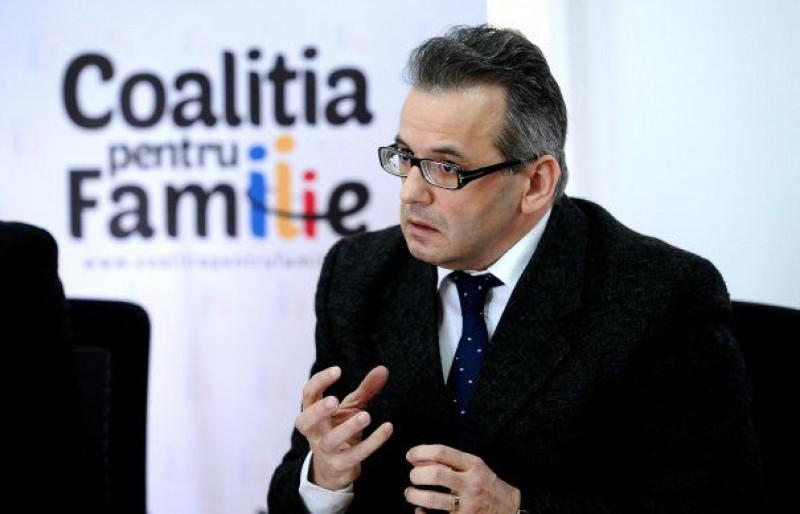 """Liderul Coaliției pentru Familie, Mihai Gheorghiu: """"Iohannis, principalul oponent al Referendumului pentru familie"""""""
