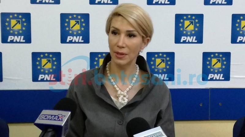 """Liderul PNL, Raluca Turcan, despre situația organizației de la Botoșani: """"Este nu foarte bună, dar..."""""""