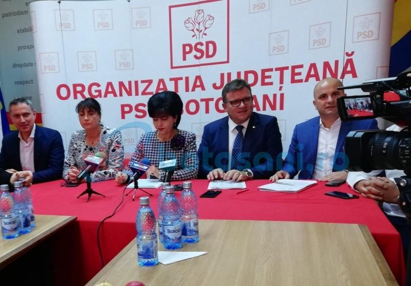 """Liderul PSD Botoșani le cere o promisiune liberalilor, pentru """"investițiile la cheie, mature"""" lăsate moștenire"""