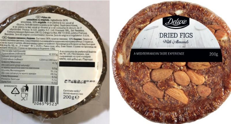 Lidl a anunțat că retrage smochinele Deluxe Paine din vânzare. Pot cauza boli de rinichi