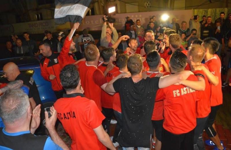 LIGA 1: Astra Giurgiu este noua campioană a României!