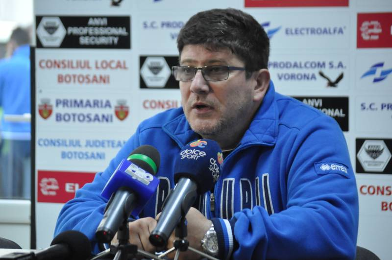 LIGA 1: Cristian Pustai, demis dupa meciul cu FC Botosani