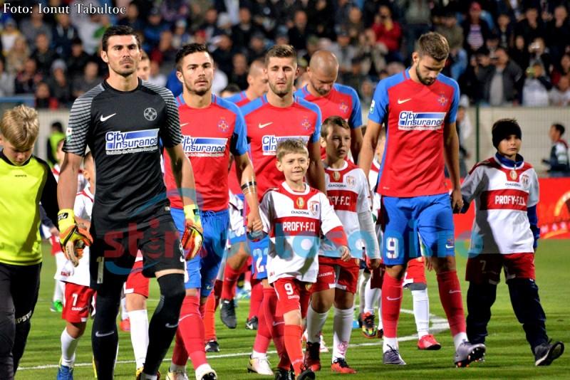 LIGA 1: Steaua a fost învinsă de Astra Giurgiu cu scorul 1-0, iar Gaz Metan este noul lider!