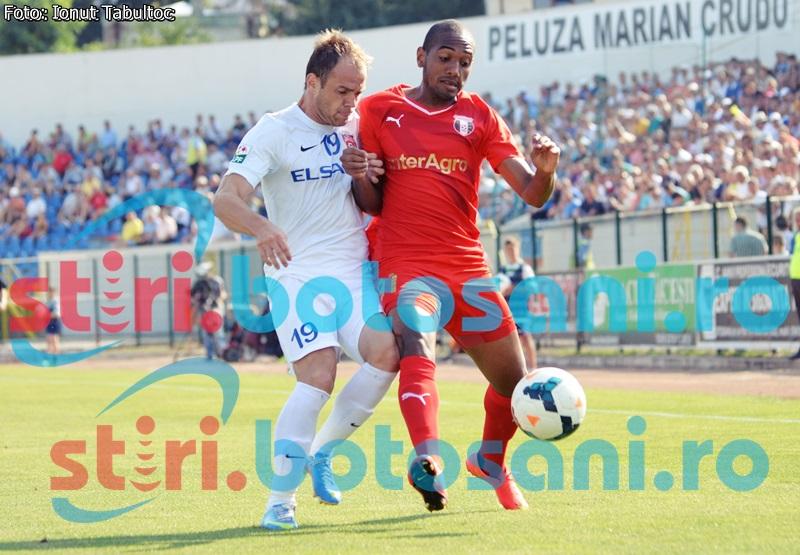 LIGA 1: Viitorul si Astra au pierdut si raman la egalitate de puncte cu FC Botosani! CLASAMENT