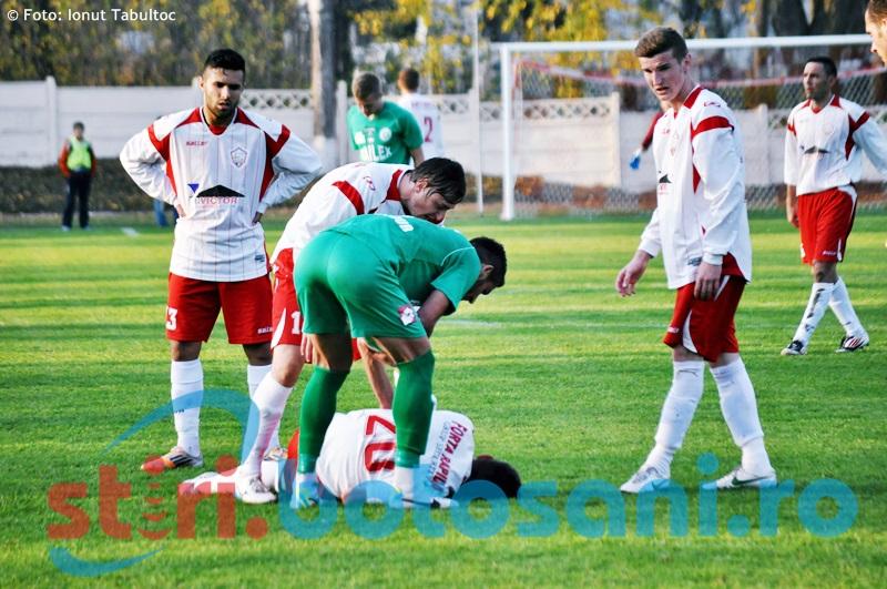 Liga 3: FCM Dorohoi a condus cu 1-0 pe Moinesti, insa a fost invinsa la scor!
