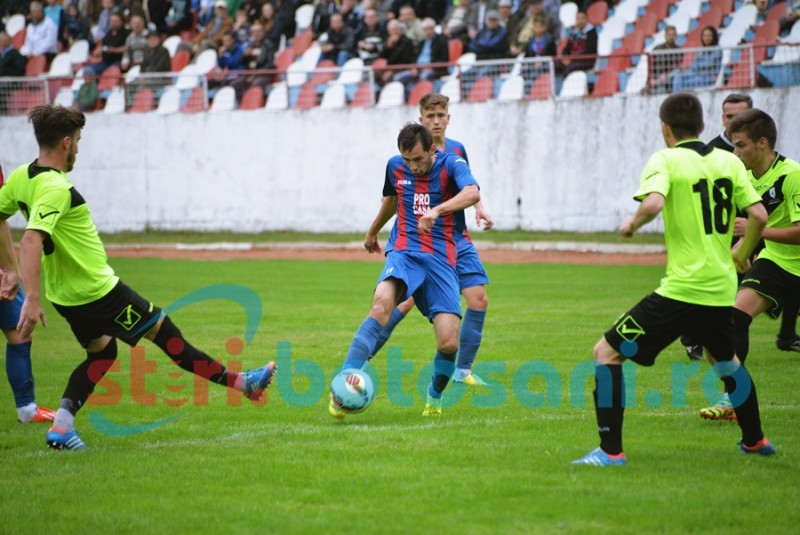 LIGA 3: Inter Dorohoi, invinsa de Miroslava pe final de meci, dupa o gafa a lui Satco! FOTO