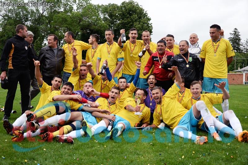LIGA 4: Campioana judetului Botosani va juca impotriva Bucovinei II Pojorata, la barajul pentru promovarea in Liga 3
