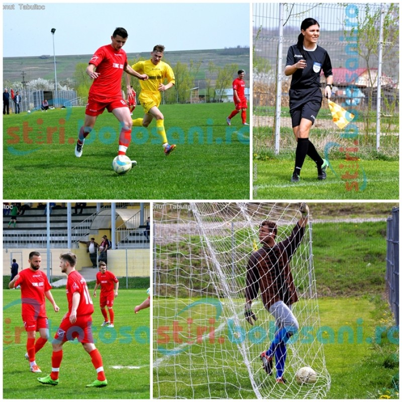 LIGA 4: Luceafarul si Tudora au invins la scor! Dolhescu este noul golgheter, iar portarul Darabaniului a ajuns la 5 goluri! GALERIE FOTO, VIDEO