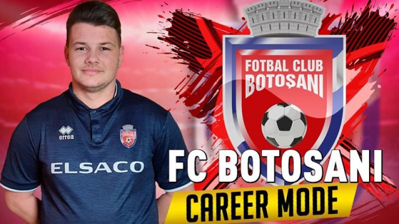 """Liga Întâi se joacă pe """"Play-Station"""". Daniel Constantinescu va reprezenta FC Botoșani"""