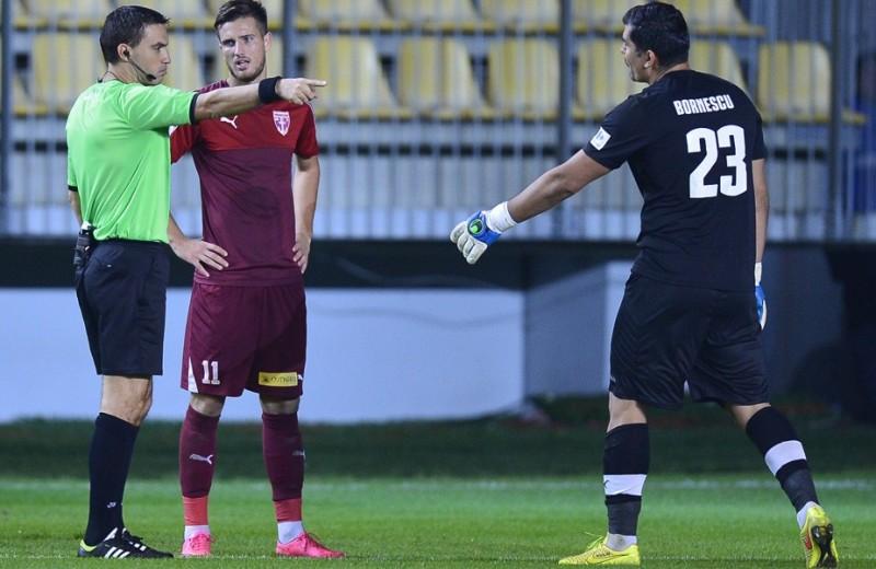"""LIGA1: Hațegan a """"făcut"""" două goluri! Cel mai bine cotat arbitru român a influențat rezultatul dintre Voluntari și Steaua"""