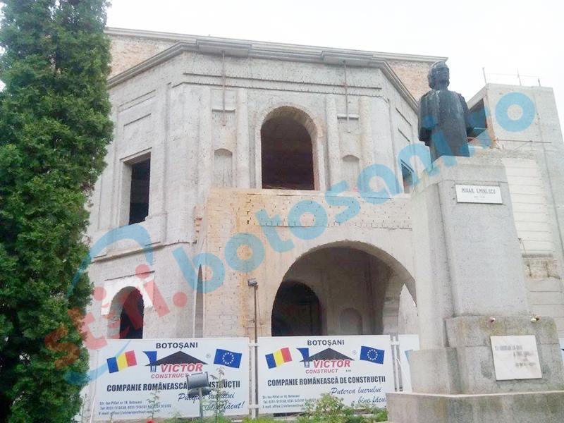 Lipsă de interes pentru proiectarea lucrărilor la Teatrul M. Eminescu