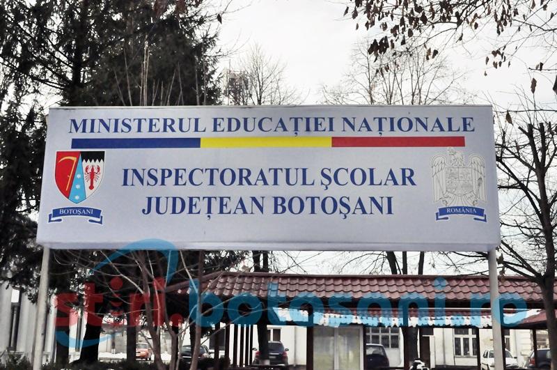 LISTA FINALĂ a directorilor de școli din județul Botoșani!